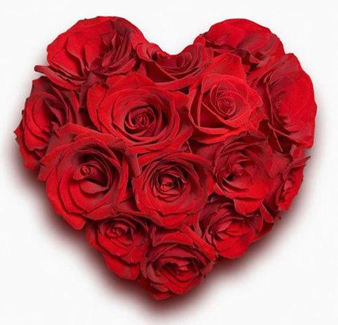 Открытки на 8 марта сердечки
